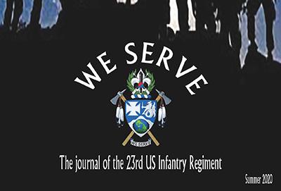 23rd Infantry Regiment Journal Cover