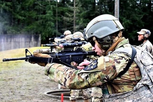 The 1/23 Inf Tomahawks , part of the Ghost Brigade showing soldiers keeping their eyes focused on training and remaining ready to support the mission.